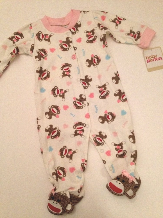 Sock monkey pyjamas