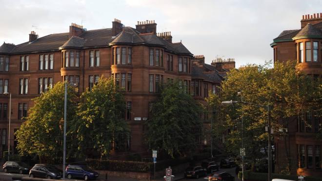 Glasgow tenements