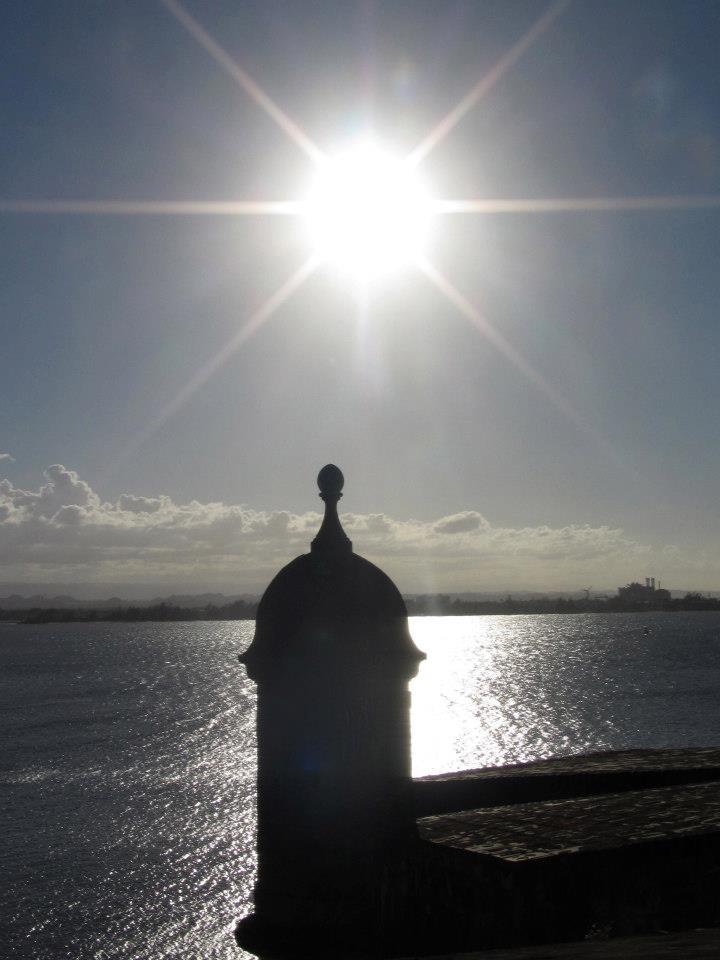 El Morro in the sunshine