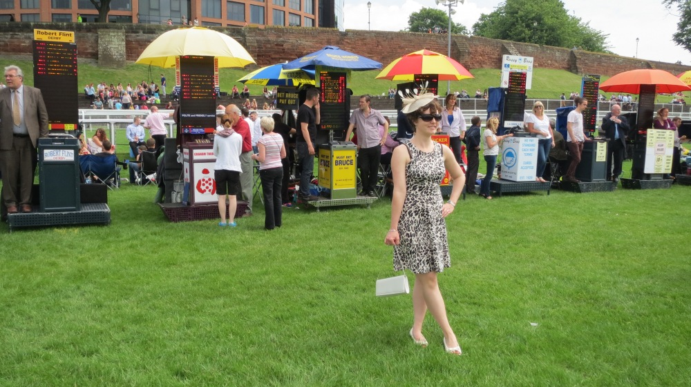 Me at the Chester Races