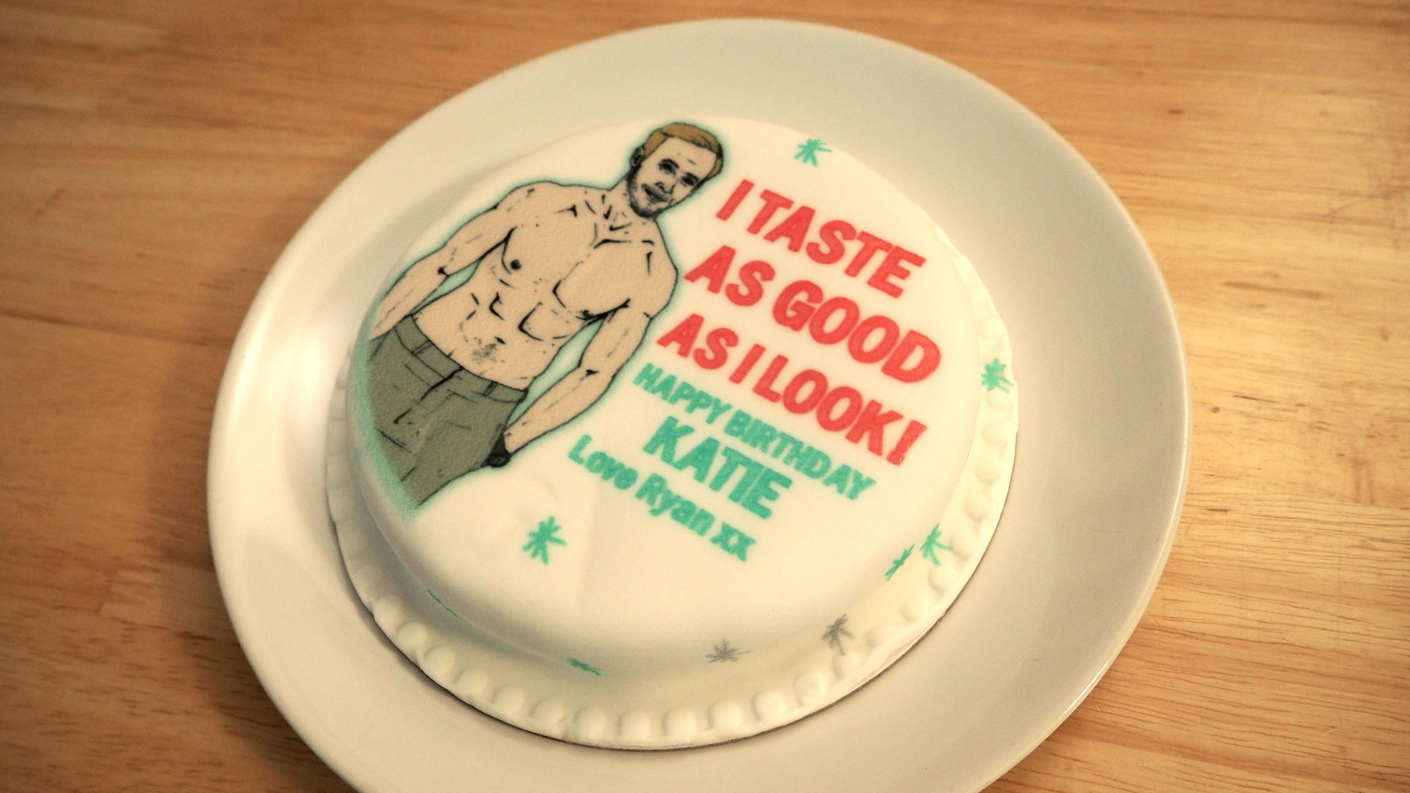 Ryna Gosling Baker Days cake